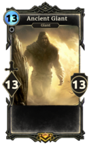 Ancient Giant 13-13