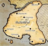 Карта Валенвуда