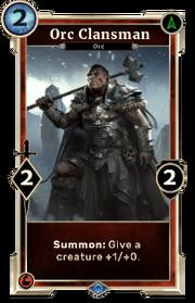 Orc Clansman версія DWD