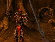 Дремора у бою (Morrowind)