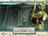 Золотий святий (Shivering Isles) обої