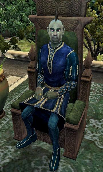 Andel Indarys на троні