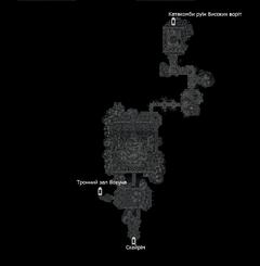Руїни Високих воріт (план)