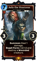 Aela the Huntress Legends card
