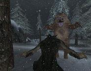 Вовкулака проти ведмедя (Bloodmoon)