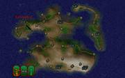Лілландріл на мапі