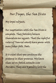 Our Dupes, the Sea Elves Page 1