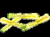 Печена цибуля-порей