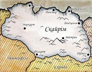 Карта Скайріма