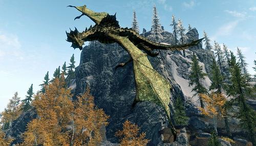 Кривавий дракон у польоті