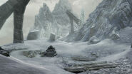 The Elder Scrolls V Skyrim Snow