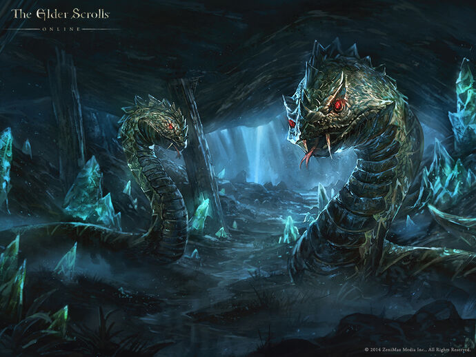 TESO Морська змія