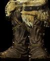 Hide boots