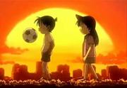Shinichi i Ran de petits