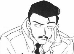 Kogoro Mouri manga