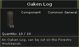 Oaken Log