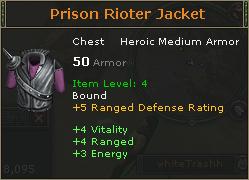 Prison rioter jacket