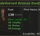 Reinforced Bronze Boots