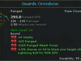 Guards Crossbow