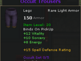 Occult Trousers