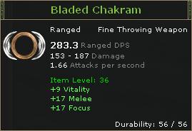 Bladed Chakram