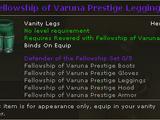 Fellowship of Varuna Prestige Leggings