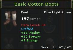Basic Cotton Boots