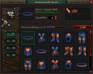 Armorsmith Anvil