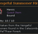 Vengeful Summoner Ring
