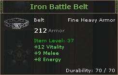 IronBattleBelt