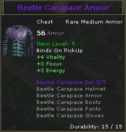 Beetle Carapace Armor