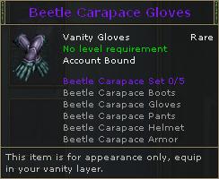 Beetle Carapace Gloves V