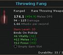 Throwing Fang