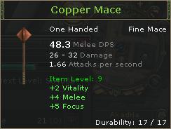 Copper Mace
