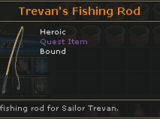 Trevan's Fishing Rod