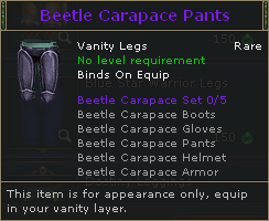 Beetle Carapace Pants V