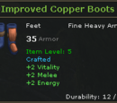 Improved Copper Boots