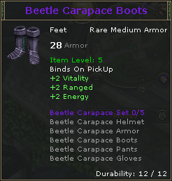 Beetle Carapace Boots