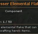 Lesser Elemental Flake