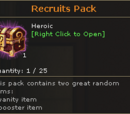 Recruits Pack