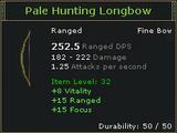 Pale Hunting Longbow