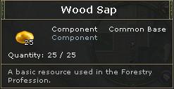 Wood Sap