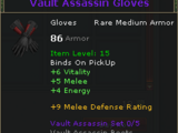 Vault Assassin Gloves