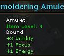 Smoldering Amulet