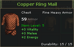 Copper Ring Mail
