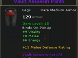 Vault Assassin Pants
