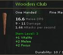Wooden Club