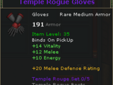 Temple Rogue Gloves