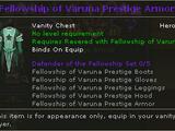 Fellowship of Varuna Prestige Armor