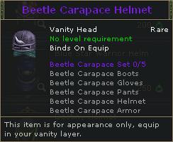 Beetle Carapace Helmet V